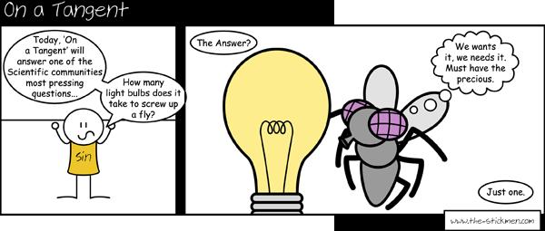 The One Light Bulb.