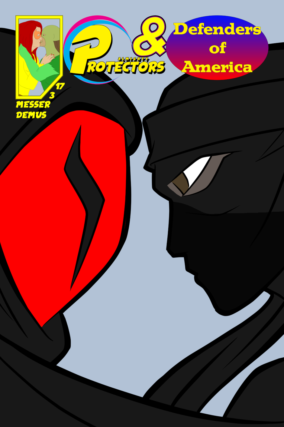 Cover: issue 3 - Protect, Defend, DESTROY!