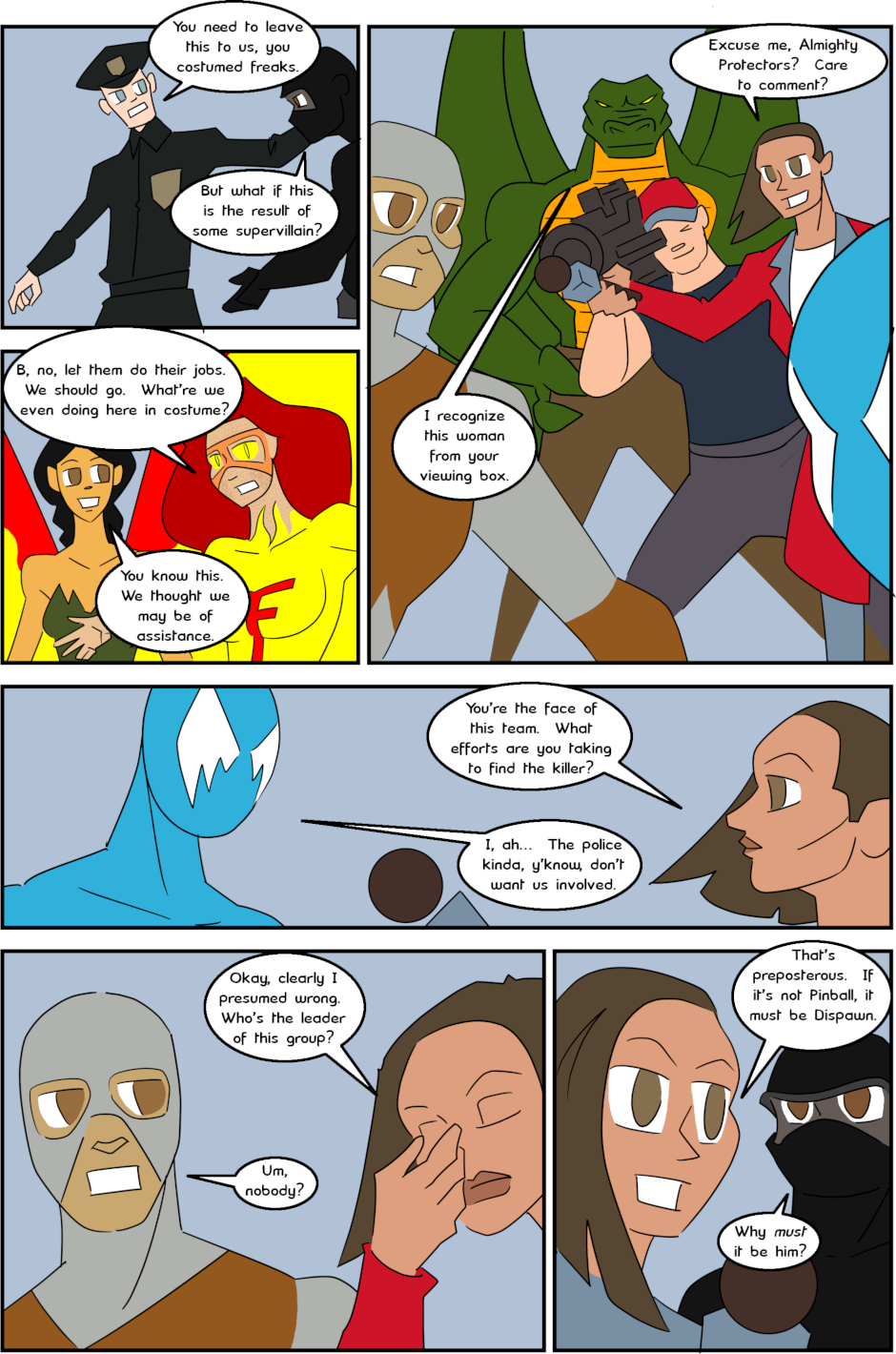 Page 2: issue 3 - Protect, Defend, DESTROY!