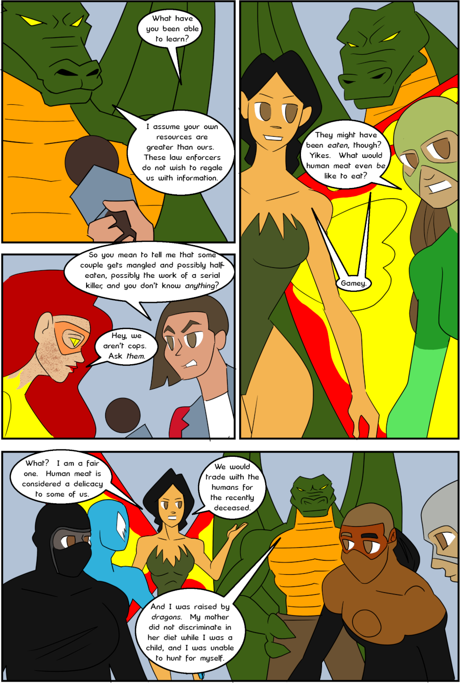 Page 3: issue 3 - Protect, Defend, DESTROY!