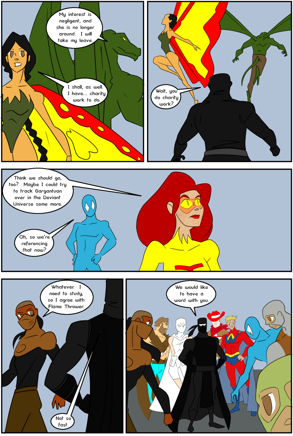 Page 5: issue 3 - Protect, Defend, DESTROY!