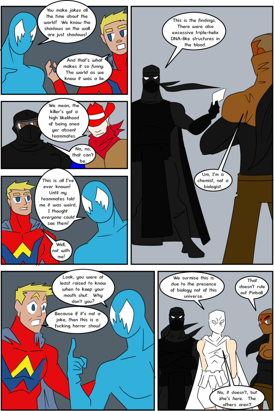 Page 8: issue 3 - Protect, Defend, DESTROY!