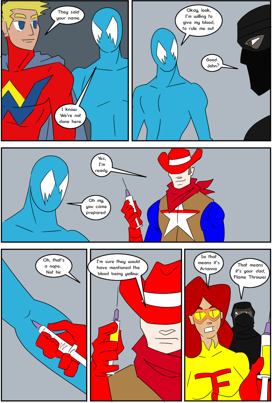 Page 9: issue 3 - Protect, Defend, DESTROY!