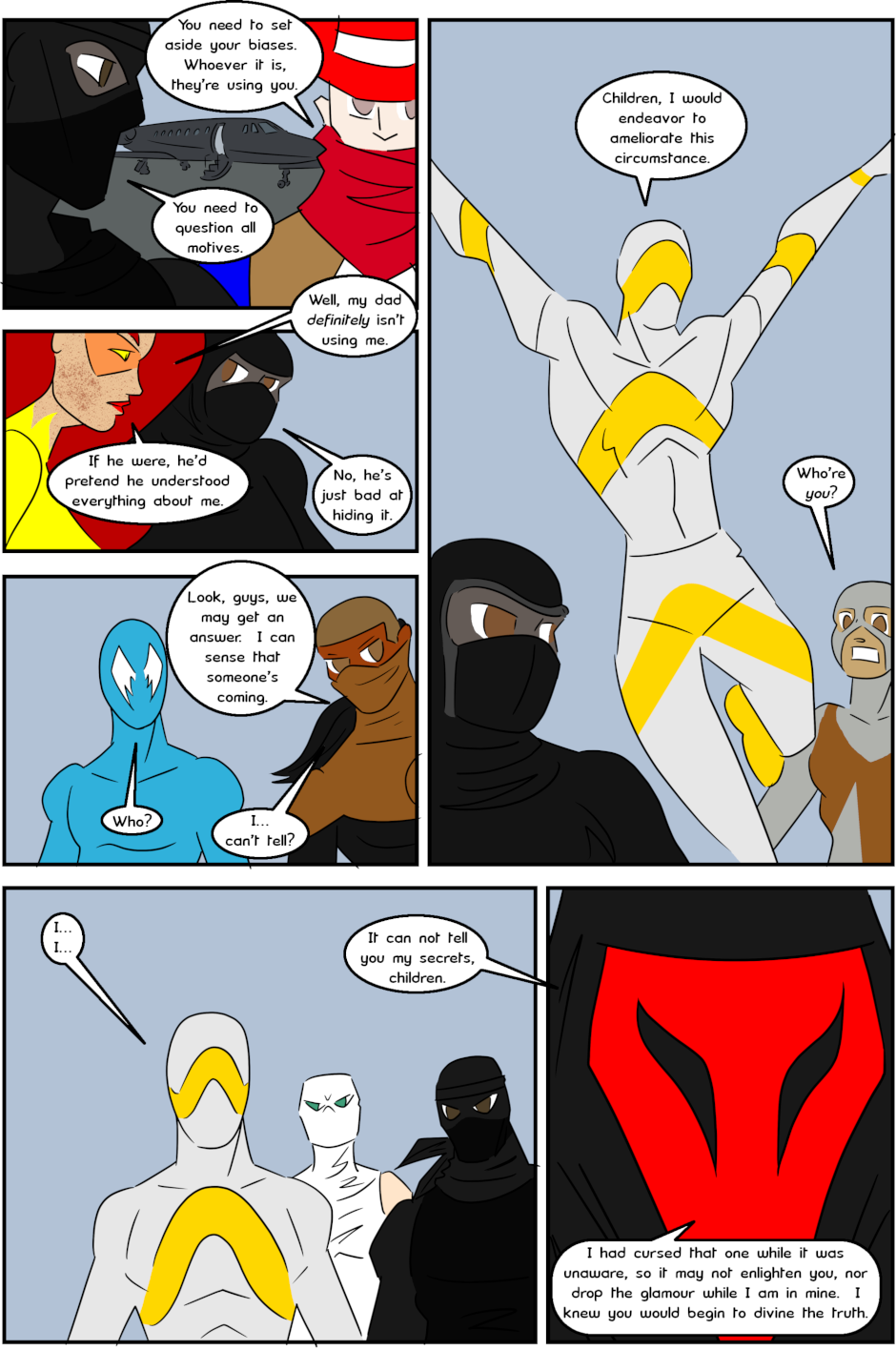 Page 10: issue 3 - Protect, Defend, DESTROY!
