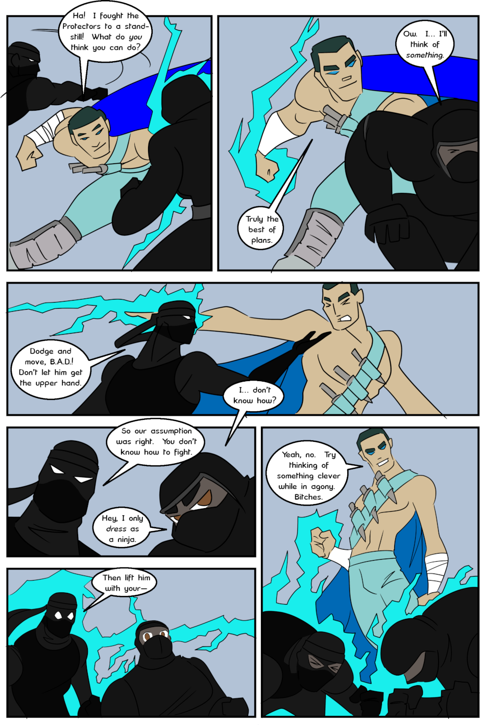 Page 14: issue 3 - Protect, Defend, DESTROY!