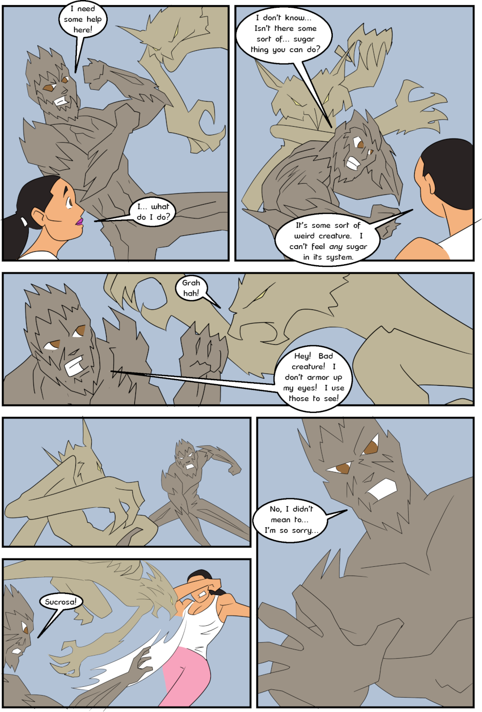 Page 16: issue 3 - Protect, Defend, DESTROY!
