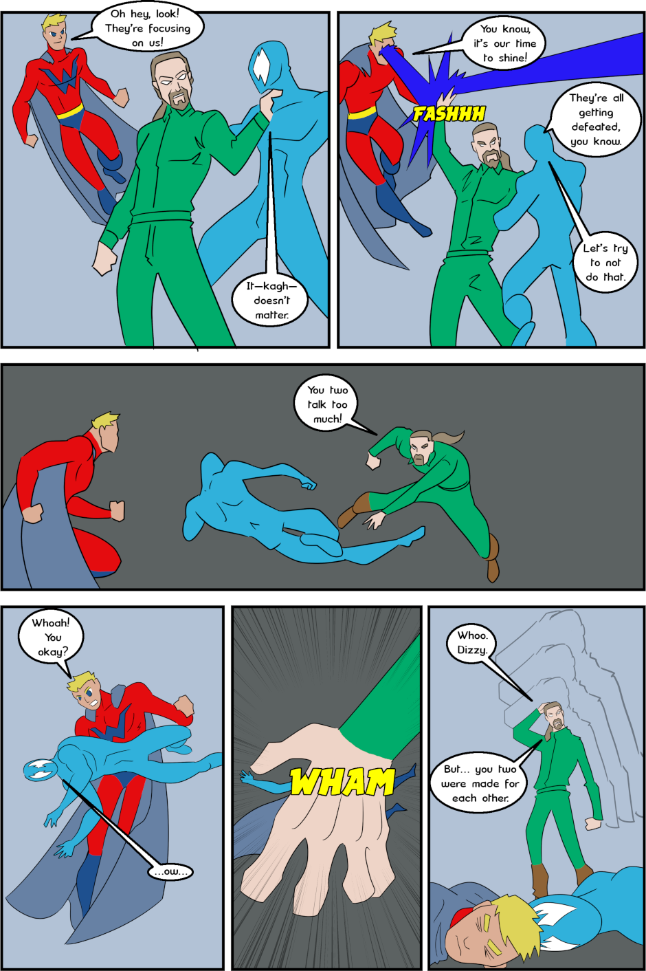 Page 18: issue 3 - Protect, Defend, DESTROY!