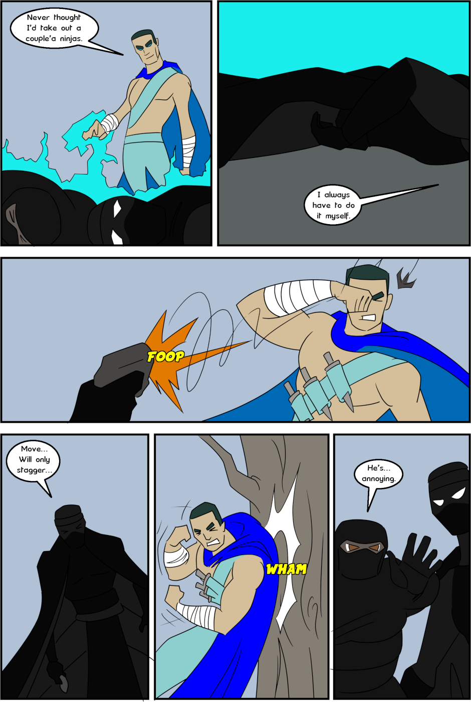 Page 21: issue 3 - Protect, Defend, DESTROY!
