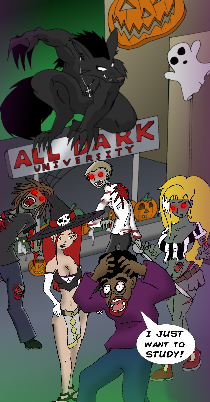 All Dark University by The Letter M