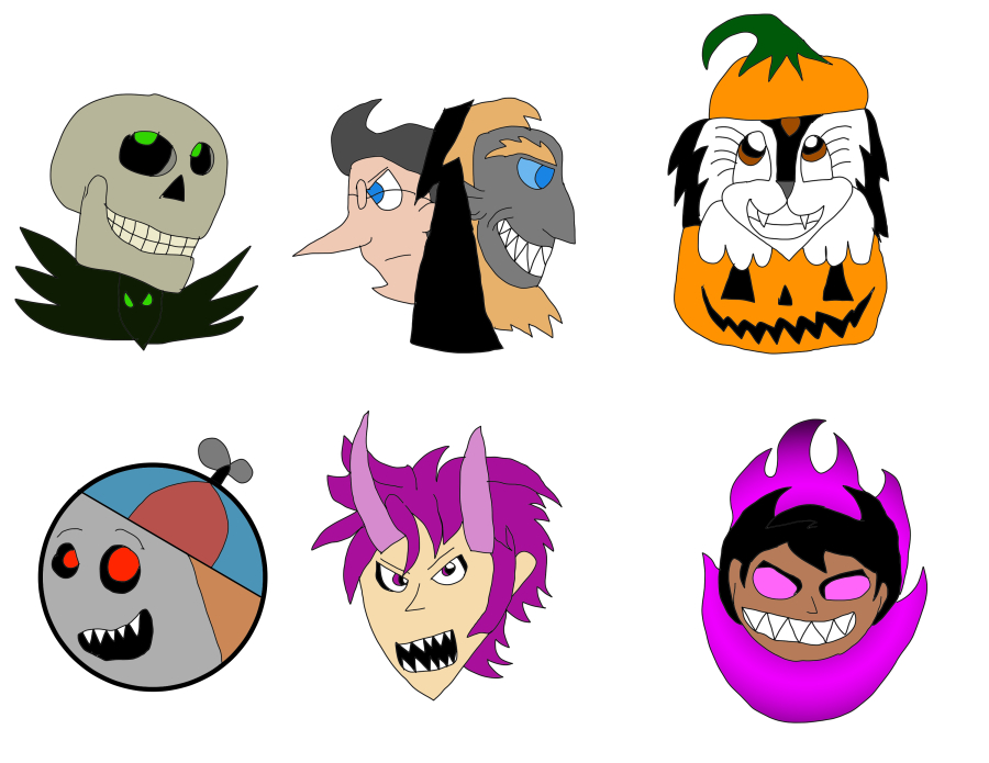 Halloween Pins (by Jeremy7)