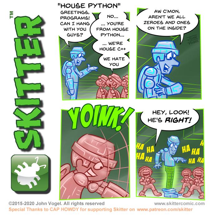 House Python