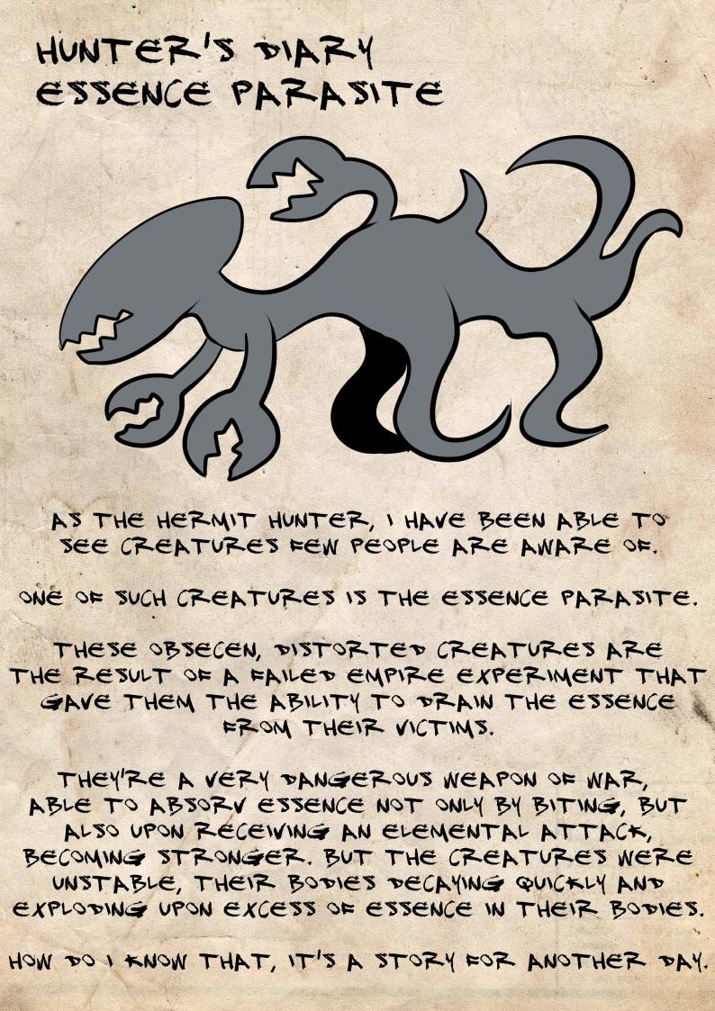 Hunter's diary: Essence parasite