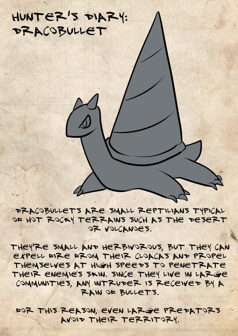 Hunter's diary: Dracobullet