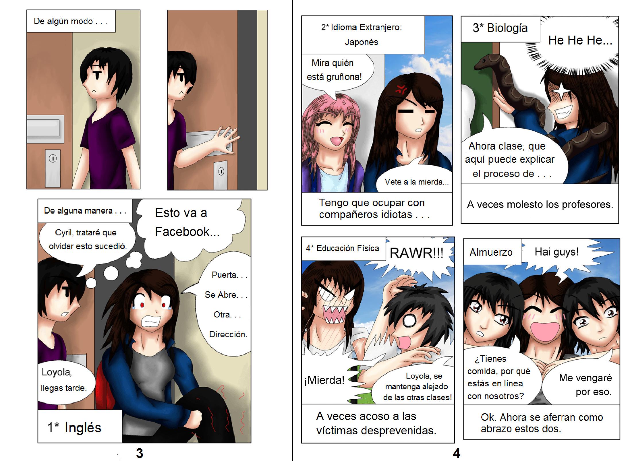 Demon Hunters Capítulo 1 Página 3-4