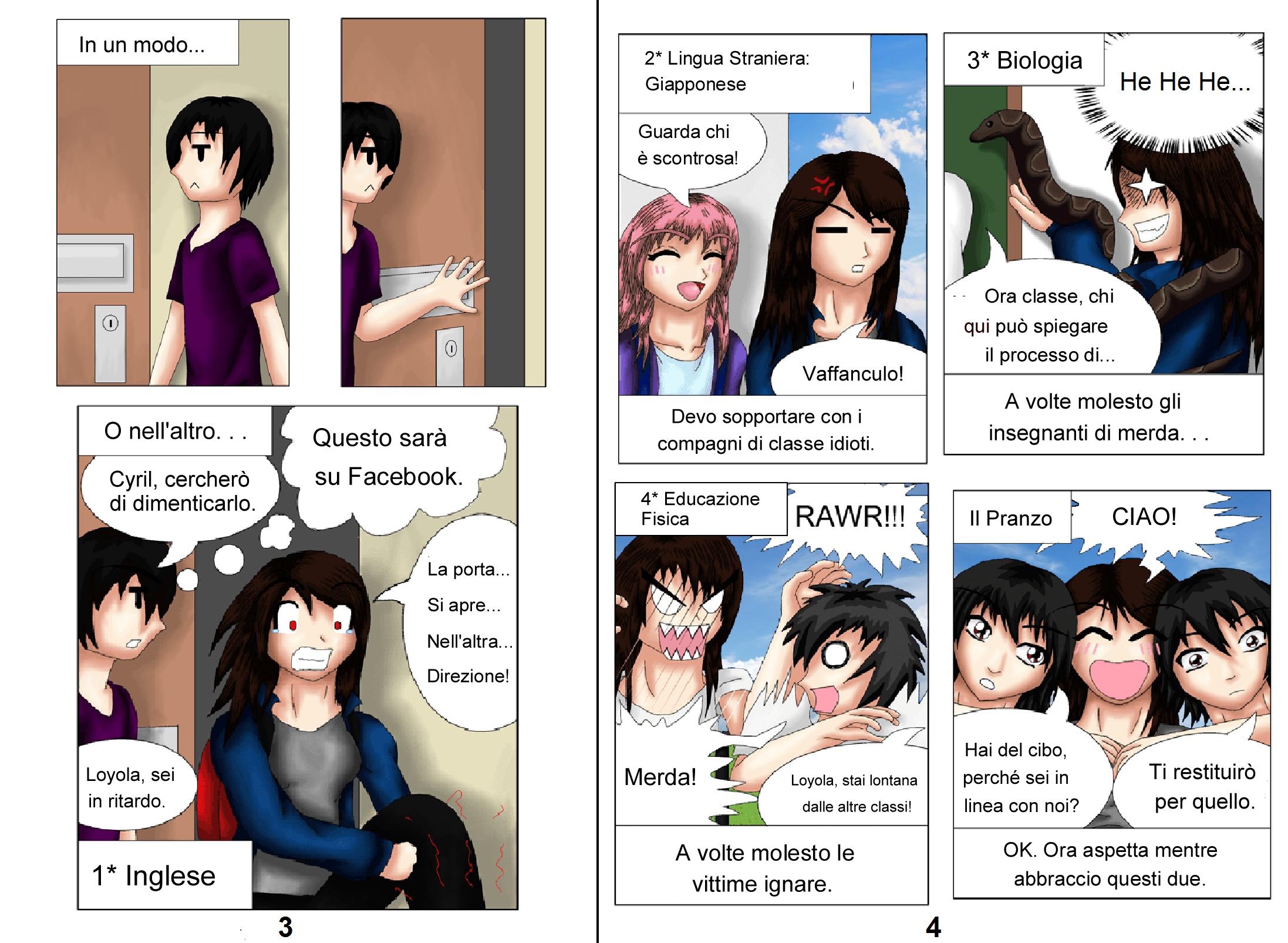 Demon Hunters Capitolo 1 Pagina 3-4