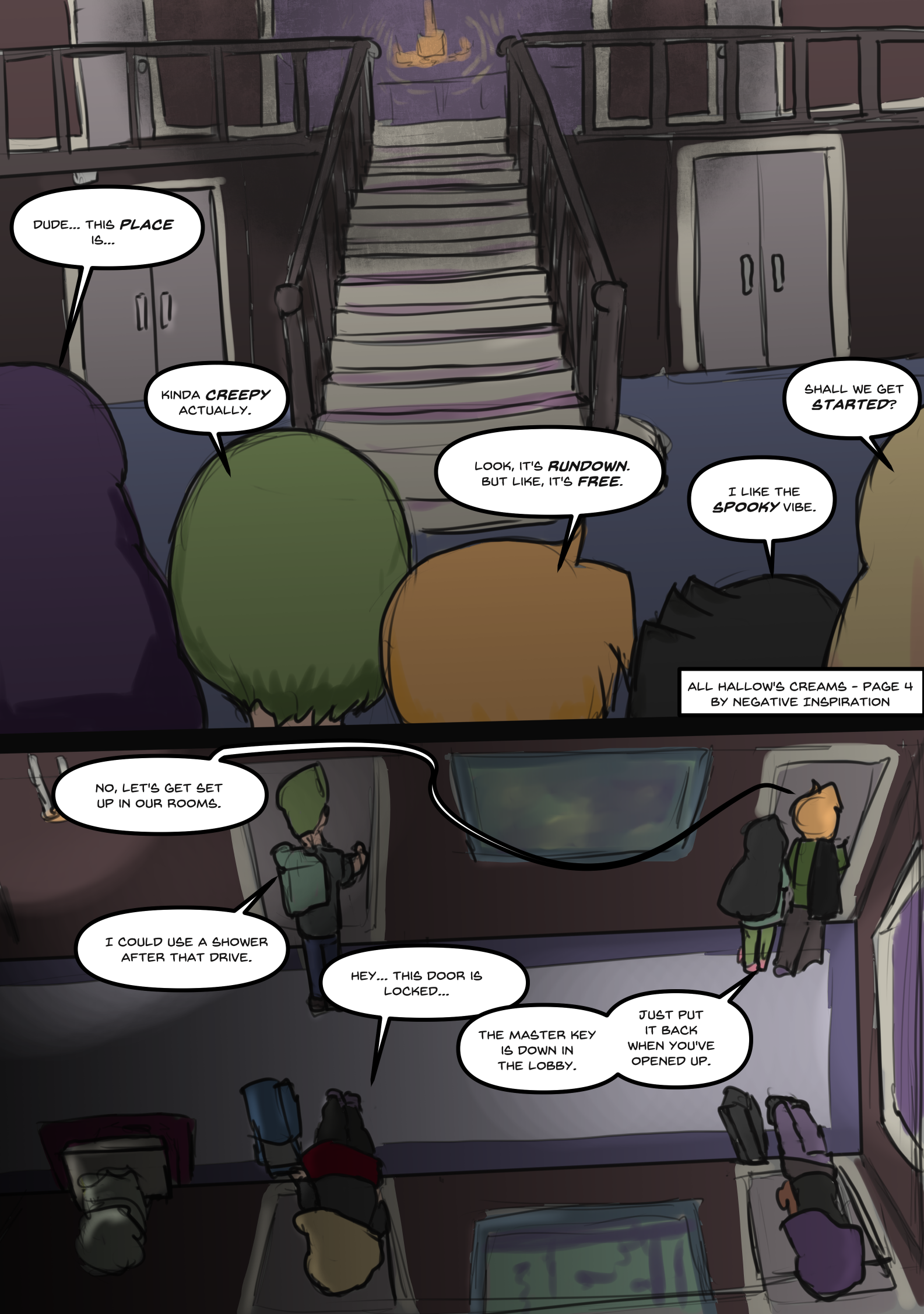 All Hallows Creams - Page 04