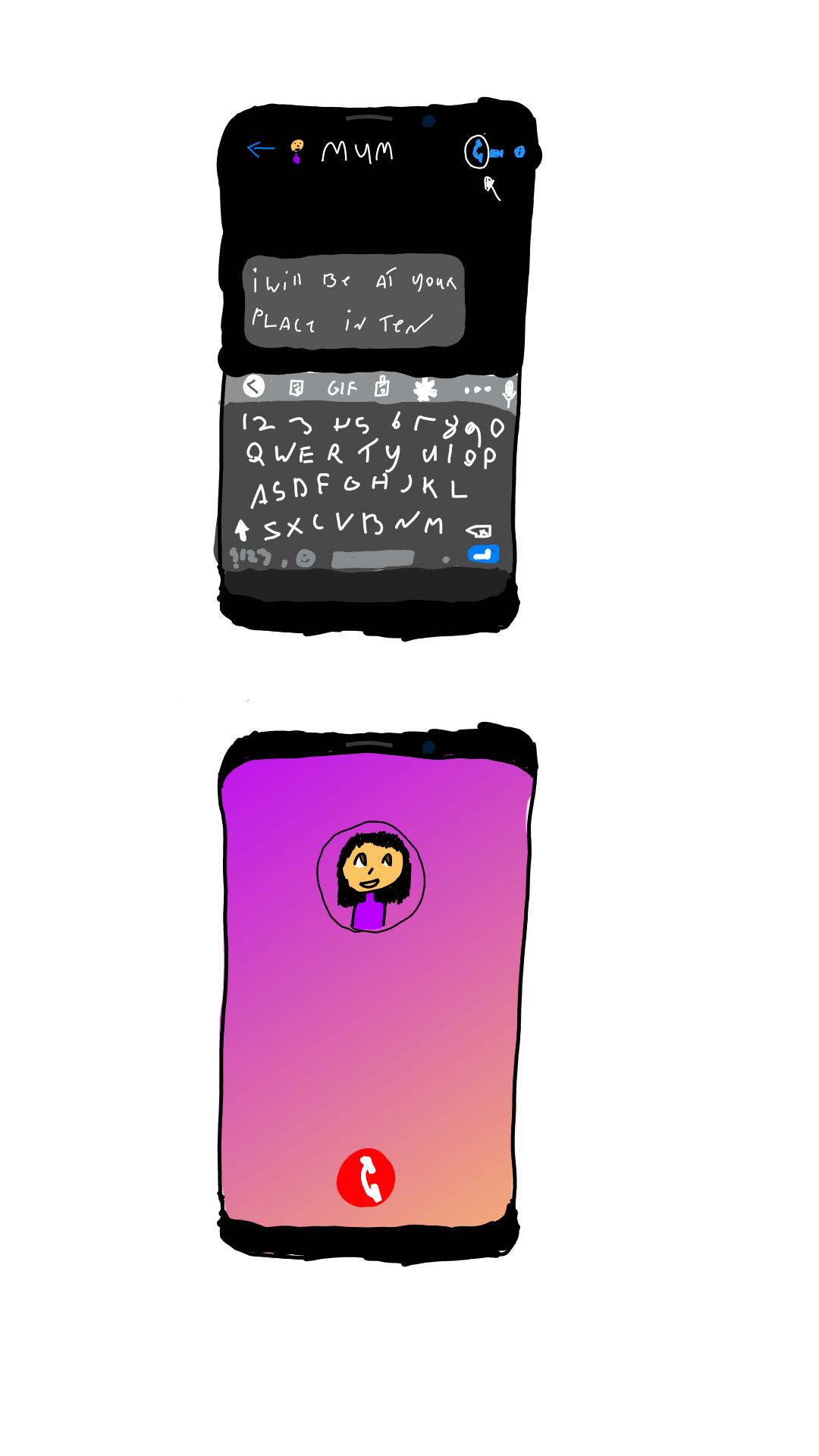 Page 41 calling mum
