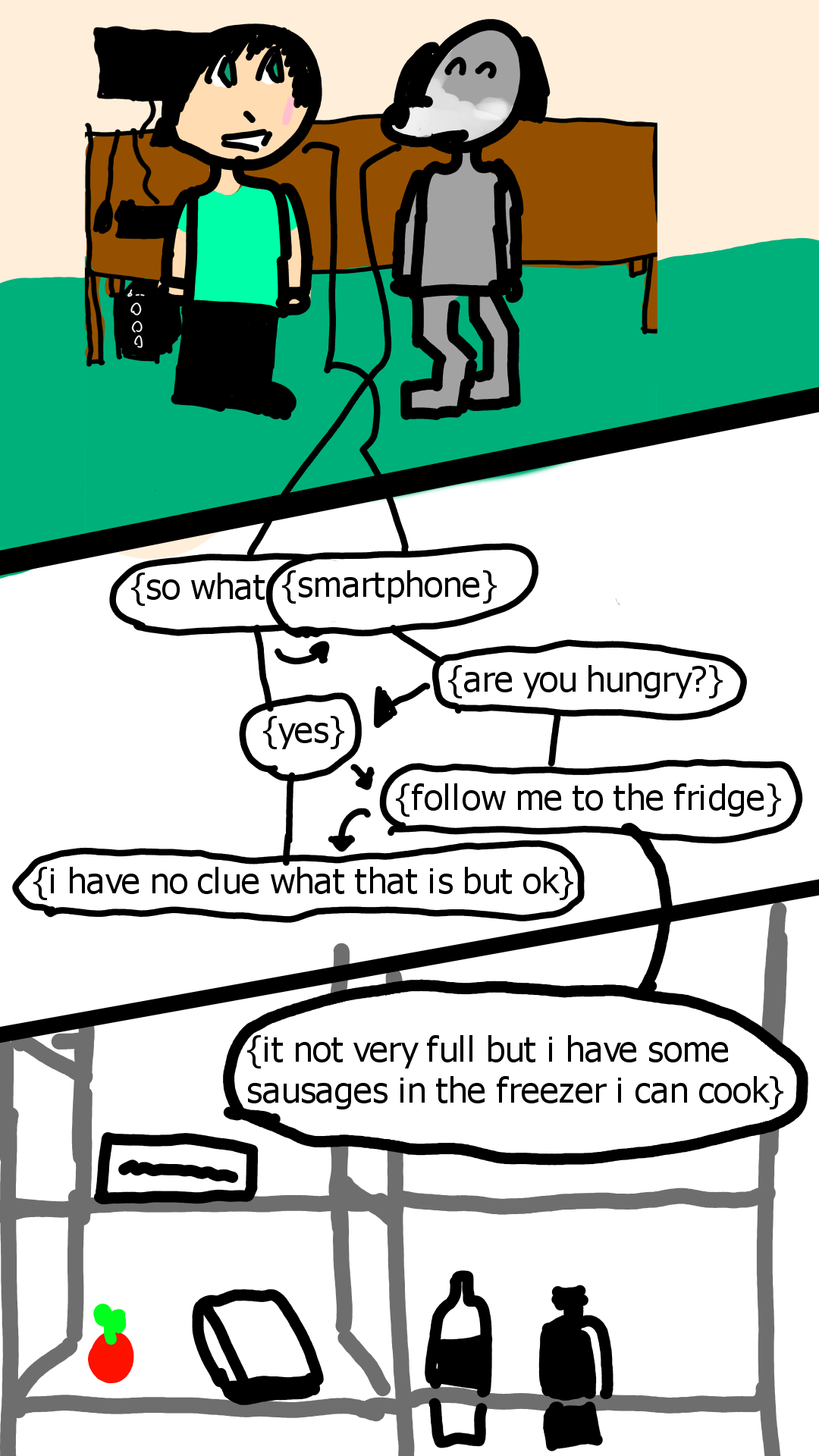 Page 43 i have food