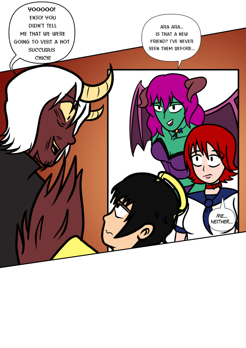 The Devil of Angel Classroom by Reapeageddon, 2 of 2