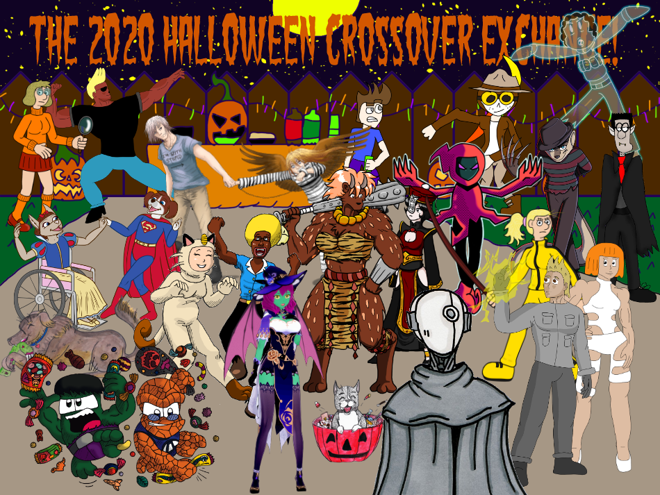 THE 2020 HALLOWEEN CROSSOVER EXCHANGE!