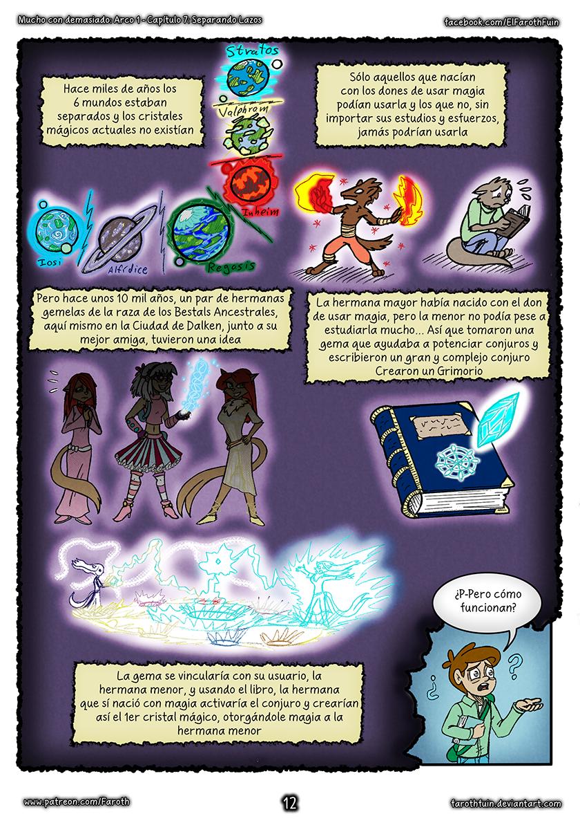 Cap 7 - Pag 12: Creación los cristales