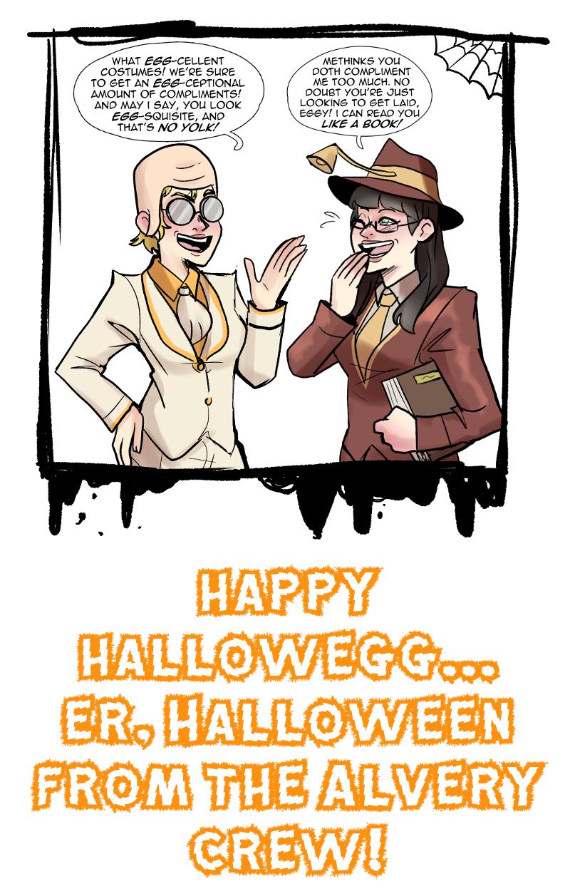 Halloween Egg-Stravaganza!