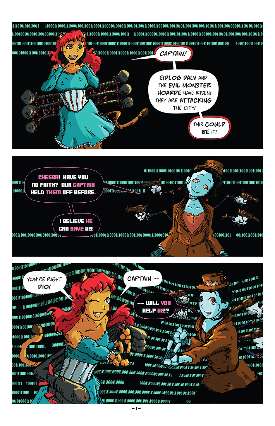 Issue 7, Page 1