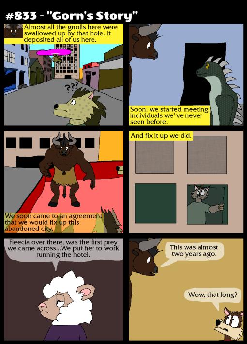 """#833 - """"Gorn's Story"""""""