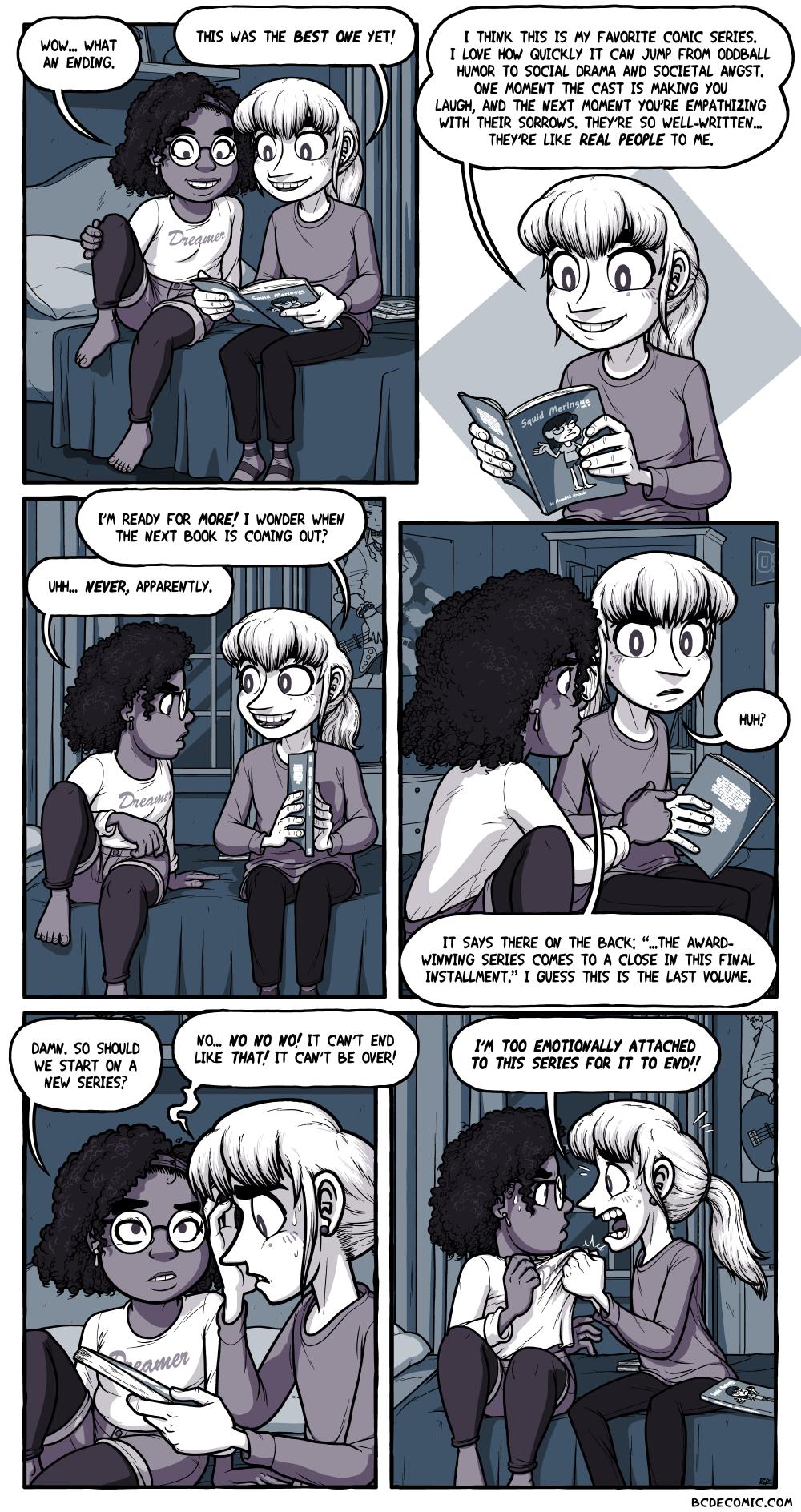 On Endings, Pt. 1