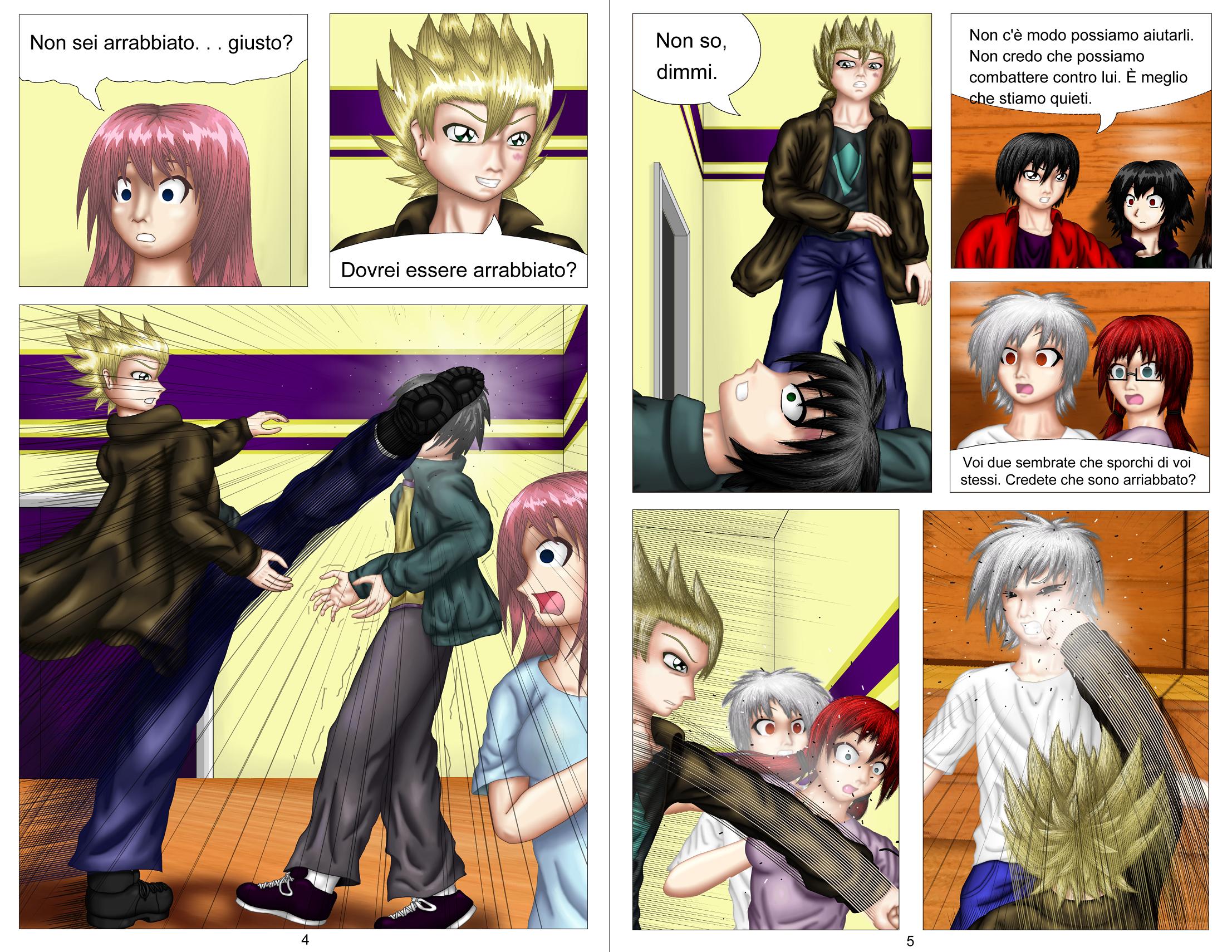 Demon Hunters Capitolo 2 Pagina 4-5