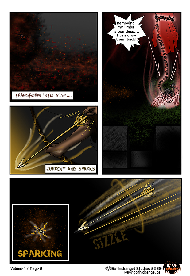 Darknight Manga Comic Page 8