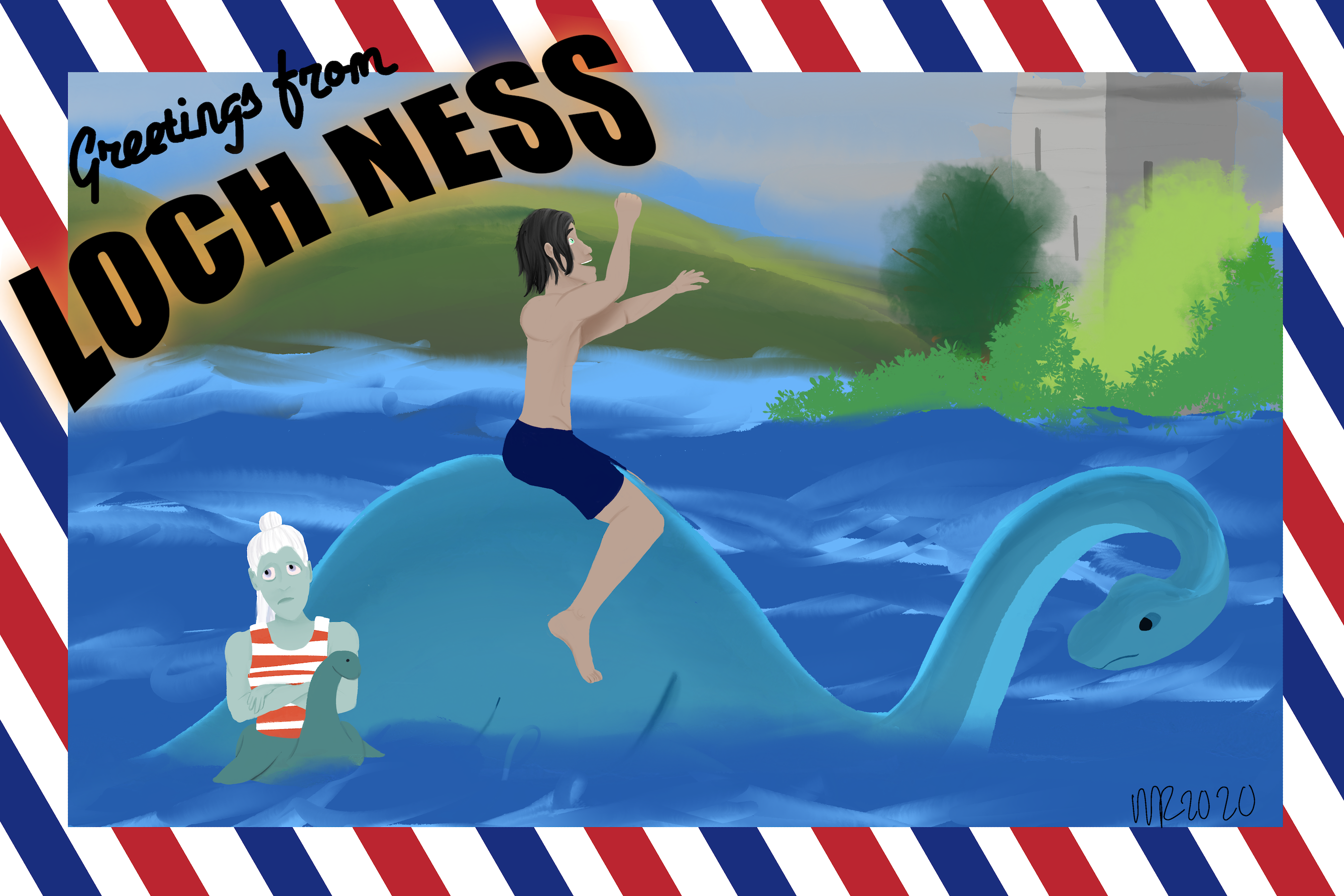 Greetings from Loch Ness