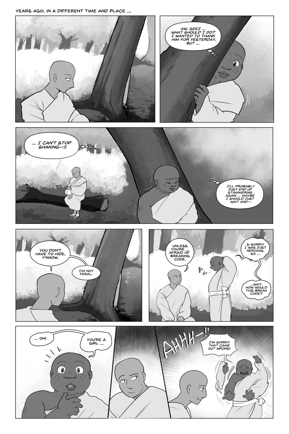 First Meeting - page 1/2