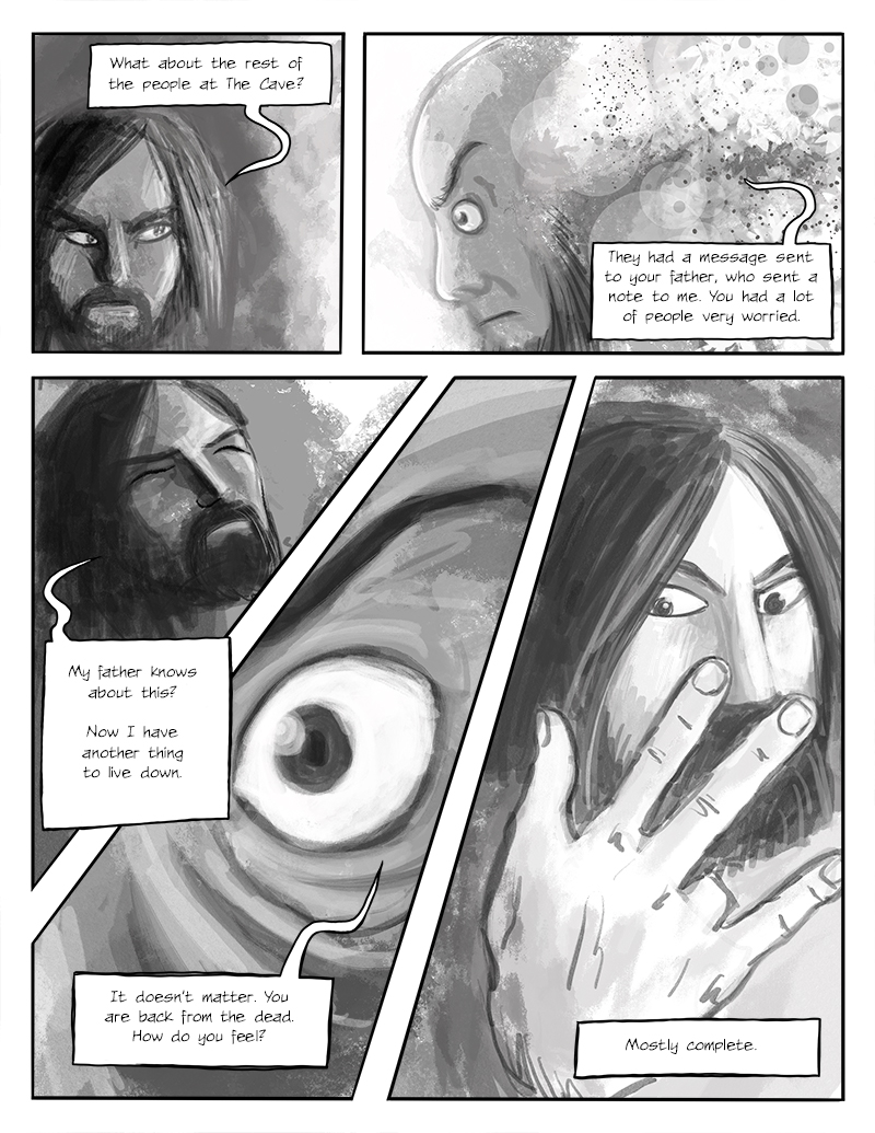 The Horror on the Hill, page 3