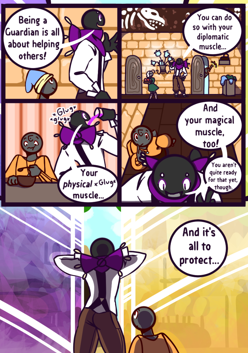 Chapter Two: Who's That? Page 10