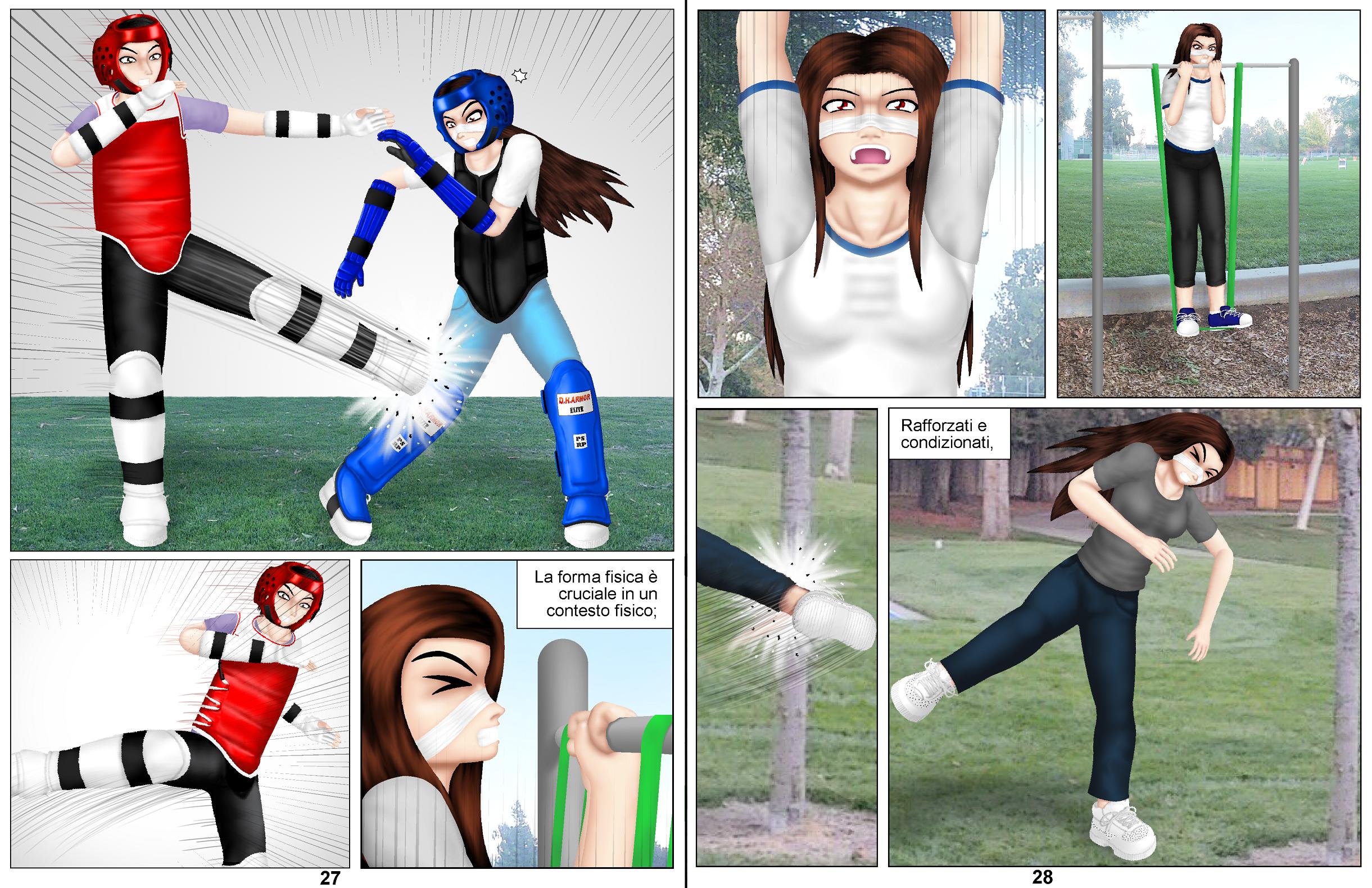 Demon Hunters Capitolo 6 Pagina 27-28