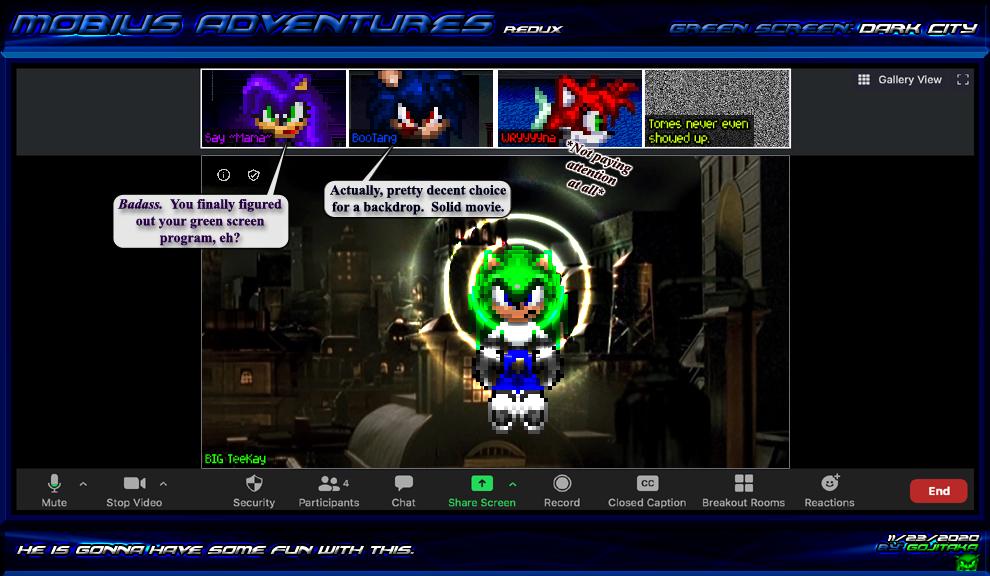 MARx Xtras: Green Screen - Dark City