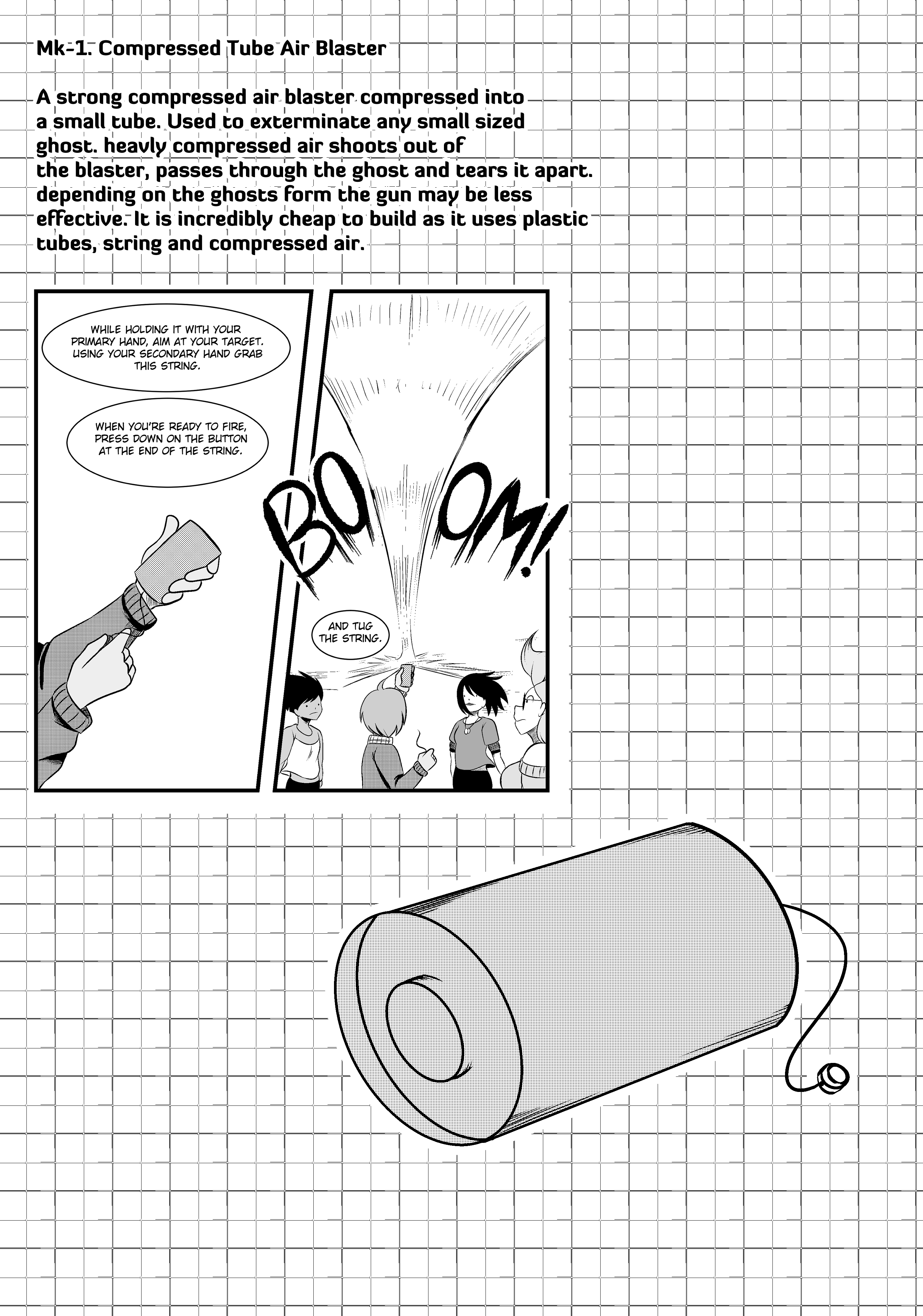 File #4: Mk-1. Compressed Tube Air Blaster