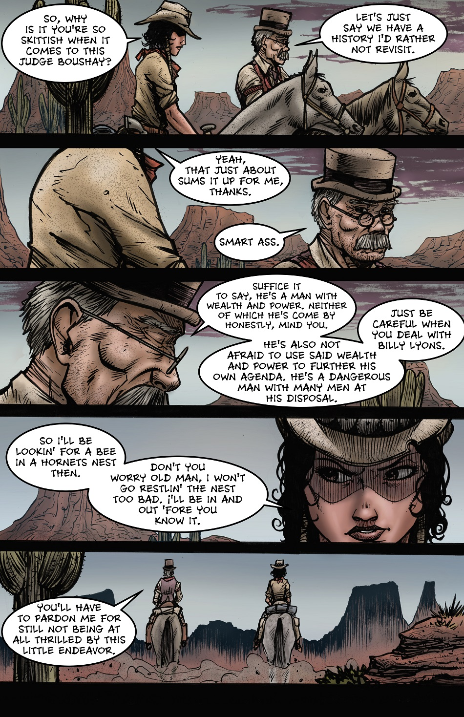 Crow Jane: The Season of Revenge book 2 page 20