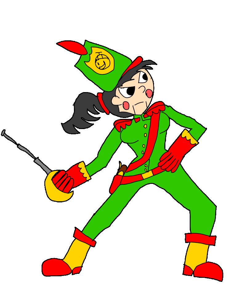 Selene as the Nutcracker (by Jeremy7)