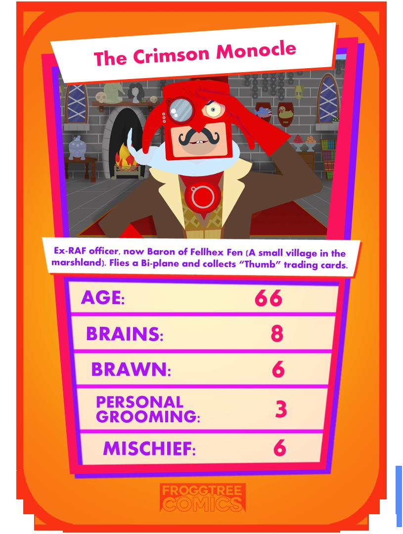 Meet The Crimson Monocle