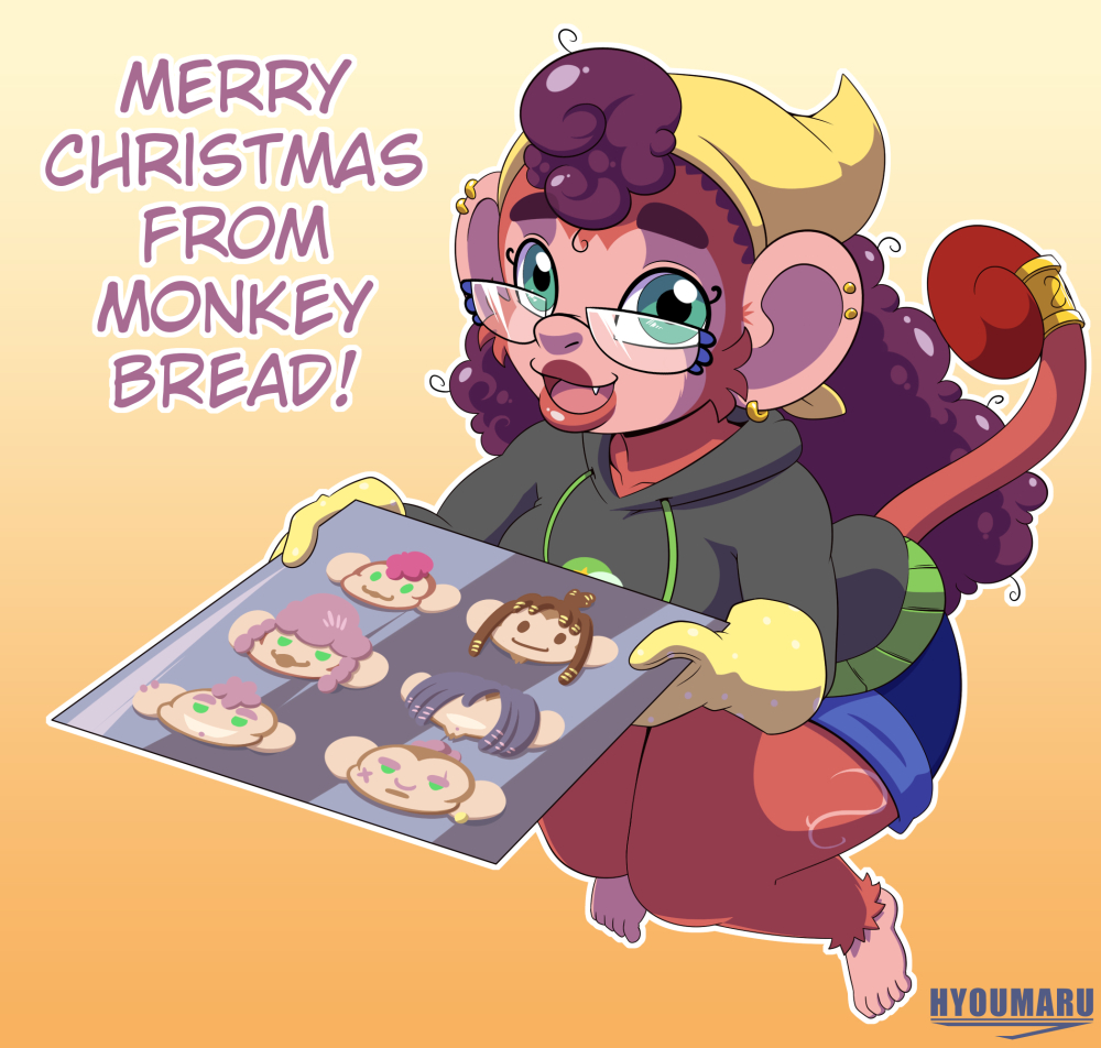 Merry Christmas from Monkey Bread