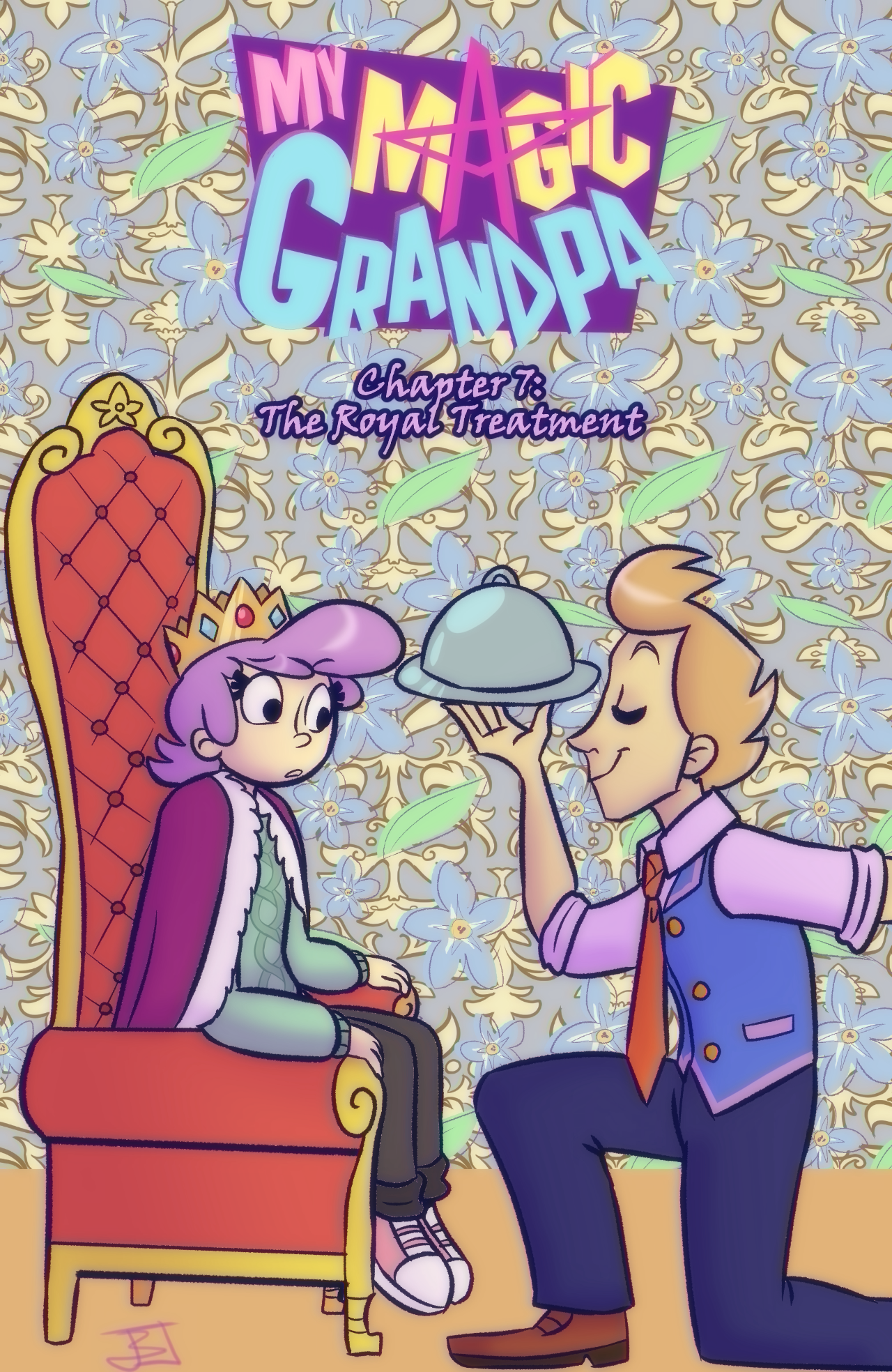 Chapter 7: The Royal Treatment - COVER