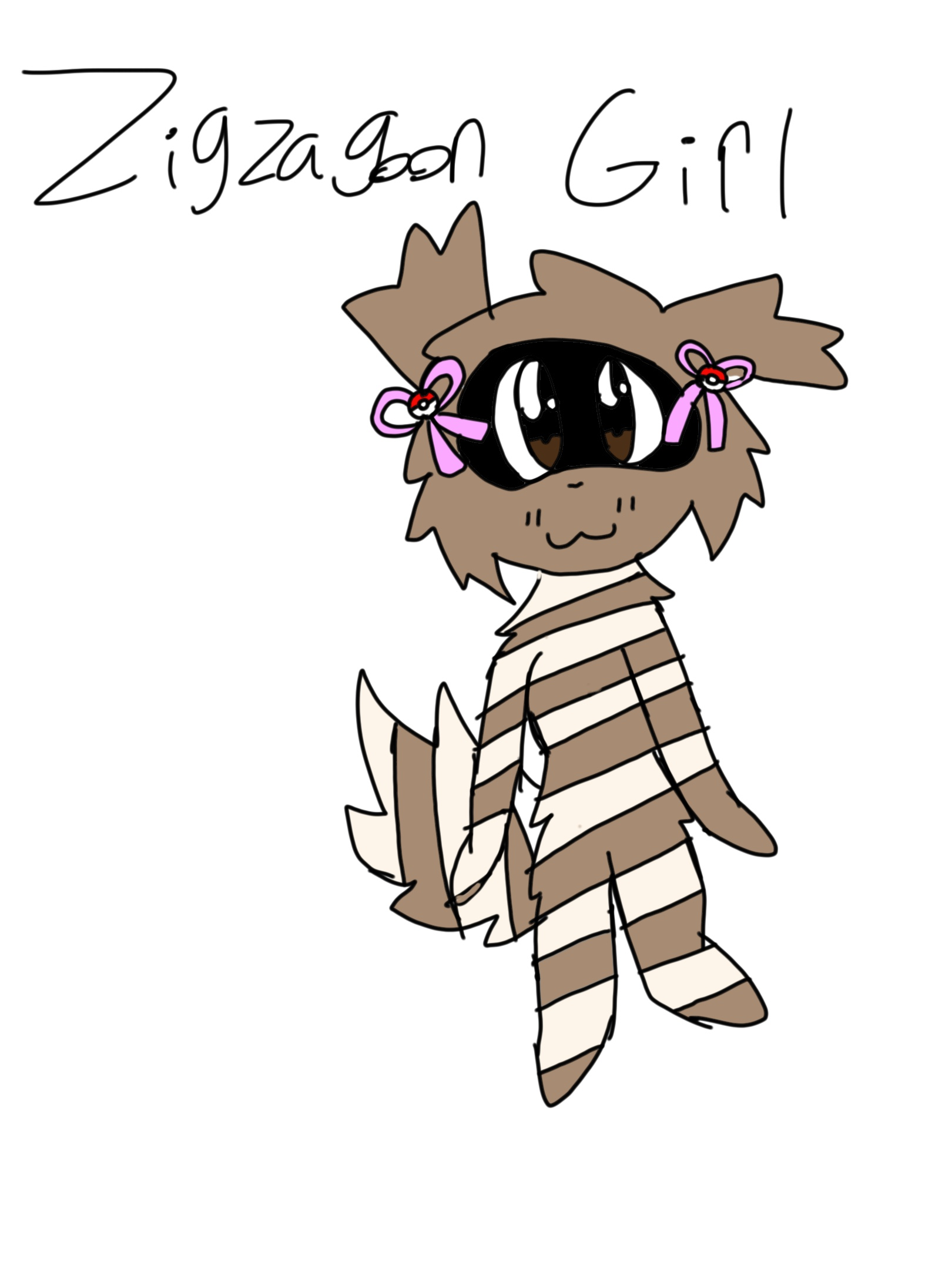 Zigazagoon Girl (for Zigzagoon girl)