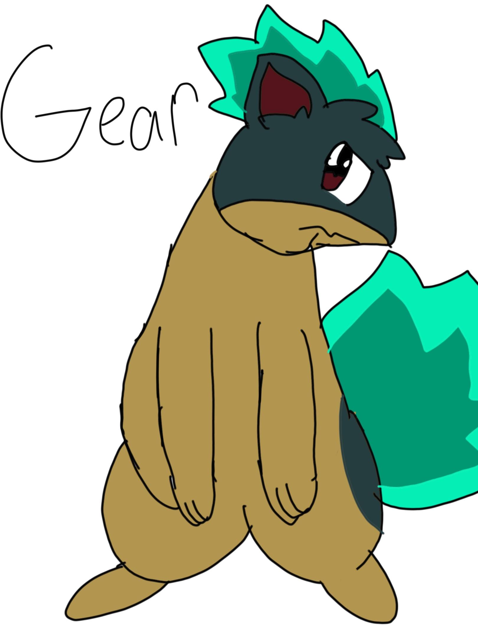 Gear the Quillava (for Nettarine79)