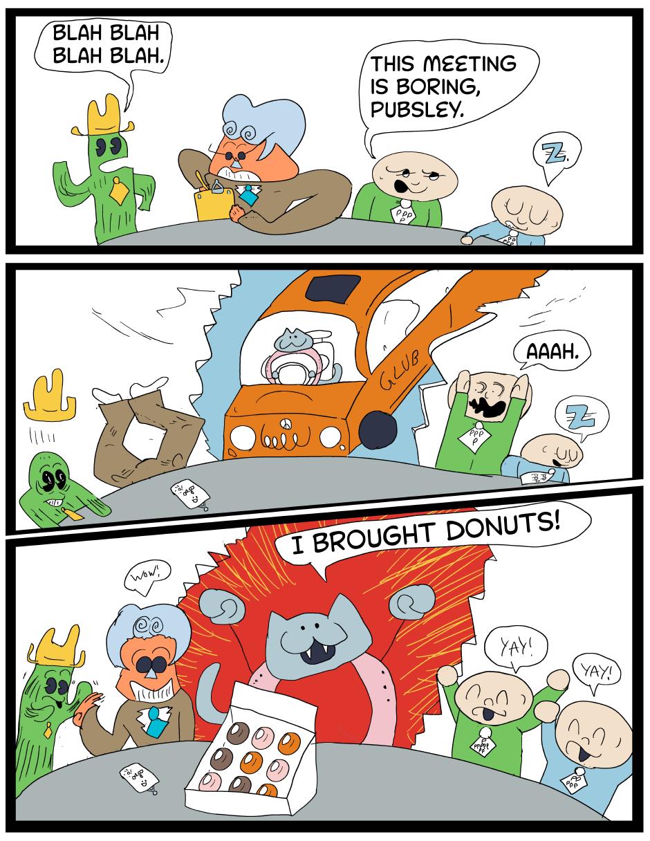 Cat Donut's Donuts