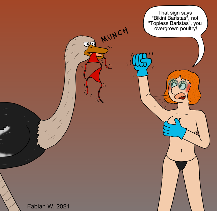 Topless Barista (for Grinder$)