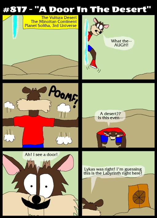 """#817 - """"A Door In The Desert"""""""