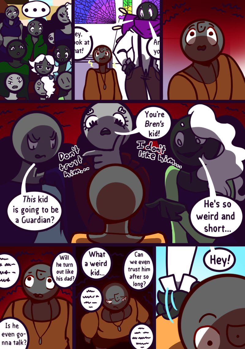Chapter Two: Who's That? Page 12