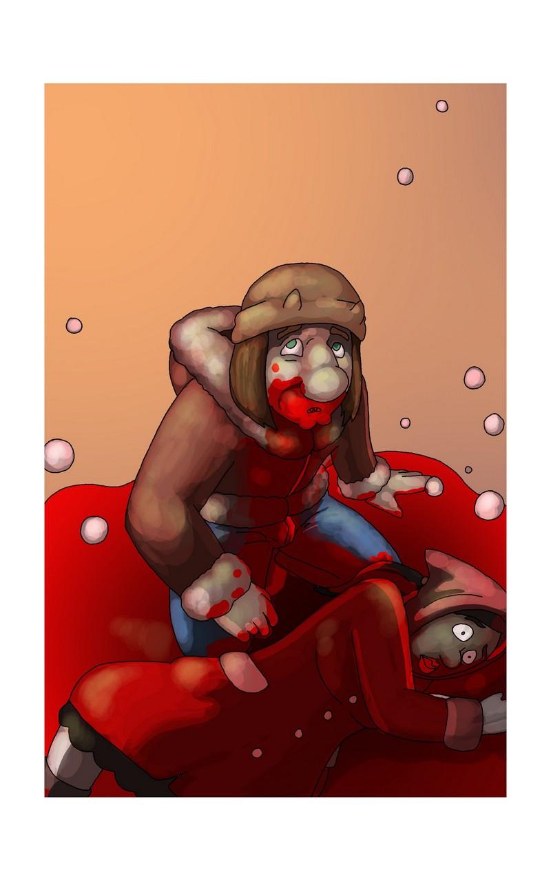 Dead Girl In Red